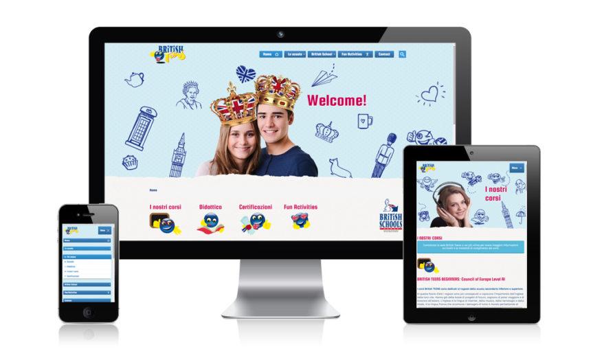 Nuovo sito Britishteens!